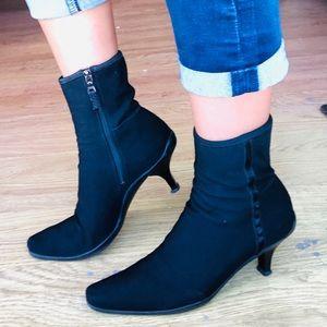 Vintage Prada Ankle Boots Black